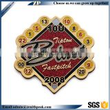 Casting and Soft enamel Baseball lapel pin with glitter                                                                                                         Supplier's Choice