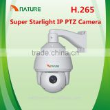 H.265 Super Starlight Full HD 1080P 25X 2.0MegaPixel HD Network IP IR high Speed Dome Camera CCTV HD IP PTZ Camera