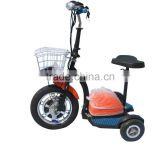 electric mobility scooter with reverse gear/electric scooter for elderly/motor scooter trike