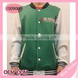 Good Quality OEM&ODM Anime Baseball Jacket Blue