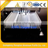 Hot selling strong weatherability graphene heat sink / aluminum extruded heat sink / aluminum heat sink plate
