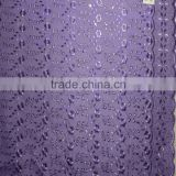 "T/C TWO-SIDE BORDER HEAVY ALLOVER EMBROIDERY FABRIC (WITH/WITHOUT LASER)42""/43"""