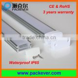 CE & RoHS, 3 years warranty U shape IP65 anodized aluminum profile for waterproof LED strip light