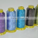 Spun Type and Dyed Sewing Thread for Embroidery