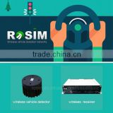 Low voltage rosim traffic detection system vehicle detector sensor for traffic signal light optimization