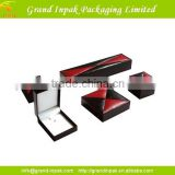 Wholesale display storage gift jewelry box,velet custom packaging luxury jewelry set box