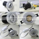 2014 Fire-Rated 10W Emergency optional LED COB Downlight for music bar partial lighting With GS SAA LED COB Downlight