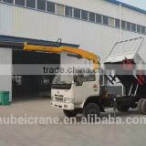 3.2ton knuckle boom Crane and Accessories,SQ80ZB2, hydraulic truck mounted crane.