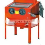 high quality electric Sand Blasting Chamber / Cabinet SANDBLASTER
