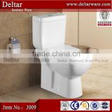 Chaozhou manufacturer combination toilet bidet , P trap two piece toilet, best competitive wc toilet price