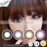 Inquiry about Fancy big eyes looking 3-tone color contact lenses various colors lenses contact colors
