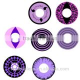 Wholesale Purple Circle Lens Crazy Contact Lenses Sharingan contact lens Cosplay Halloween contacts