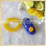 Plastic dog clicker private logo customised dog training tool
