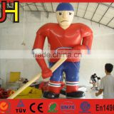 New Custom Inflatable Ice Hockey Player