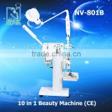 NV-801B 10 in1 Multifunctional Beauty Equipment spray tan machine for salon use