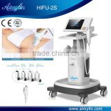 Painless Hifu/hifu Machine With Skin Rejuvenation 13mm Fat Soluble Transmitter High Frequency Machine For Acne
