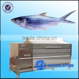fish skin removing machine/automatic fish scale peeling machine/large capacity automatic fish scale peeling machine