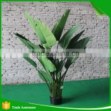 plastic high quality artificial traveller banana tree for indoor decoration