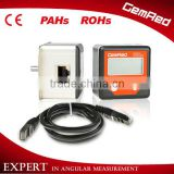 wheel alignment sensor electronic remote protractor