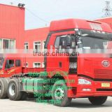 FAW 6*4 lng tractor truck supplier