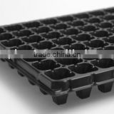6 to 288 cell plastic plant growing tray for agriculture