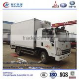 FAW 4*2 type 4m~5m reefer freezer cold box truck