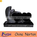Cheap chinese granite heart shaped cemetery headstone NTGT-446A