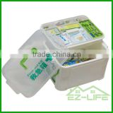 medical hot sale high quality injection home living cheap hot sale top quality home use white plastic storage box for small part