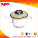 circular 23390-0L010 toyota hilux fuel filter made of quality filter paper