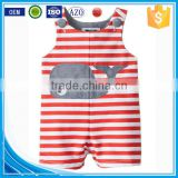 Applique summer wear sleeveless custom infant organic cotton newborn cheap wholesale used cute animal designer baby clothes