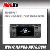 Touch Sreen 2 din Car DVD Multimedia System for bmw M5 (1996-2003) GPS Navi USB SD Slot