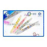 Fluorescent Water Colored Pencils Set Double Side With Cartoon Picture, Drawing Water Color Pen