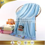 china supplier high-quality luxury monkey embroidered 100 cotton napping bath towel 70 cm *140 cm