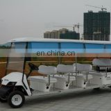 Multi Seats Electric tourist shuttle bus