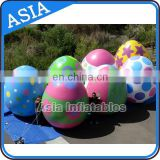 Colorful Inflatable Easter Eggs For Holiday Display and decoration