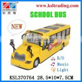 school bus toy plastic battery baby toy school bus for sale