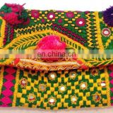 Ladies Fashionable evening party vintage clutch- Banjara clutch bag