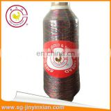 Quality cone silver metallic yarn