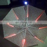 Hot creative multicolor led blinking unbrella
