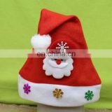 2016 Winter promotional custom christmas santa hats