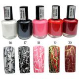P4 Crackle Nail Polish (RNPC16-20)