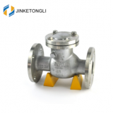 JKTLPC057 industrial inline carbon steel fuel line check valve