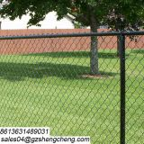 Guangzhou manufacturer chainlink border fencing for perimeter