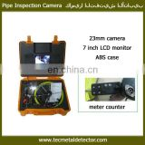 50m cable TEC-Z710DLK sewer inspection camera, with meter counter