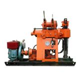 The hot sale  XY-2 drilling rig Kilometer with light weight shallow hole rig and  oil pressure feed.