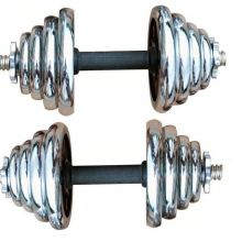 15 Lb Dumbbells With Electroplating Adjustable Dumbbell Set