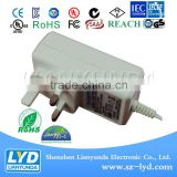 For cctv camera system adapter Black/white 12V 1A power adapter supply china alibaba with ROHS CE GS PSE certification
