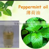 bulk factory prices and high quality peppermint oil with menthol 50% min