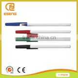 white barrel easy ball pen