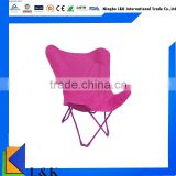 Lving room high quality chair relaxing chair/metal folding chair/butterfly chair
